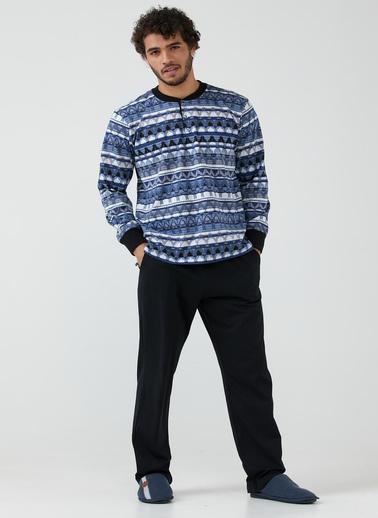 Sementa Pijama - Indigo - Siyah İndigo